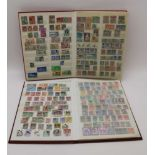 TWO LARGE STOCKBOOKS each containing a good number of stamps