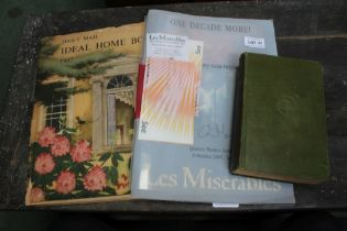 THE 1957 IDEAL HOME BOOK together with a Commemorative 10 years of Les Miserables programme with