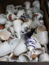 BOXES CONTAINING COLLECTOR'S BELLS VARIOUS