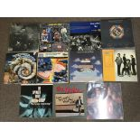 Eleven vinyl records, Slade Old New Borrowed and Blue, The Kinks Give the People What They Want, The