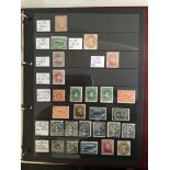 An extensive mint collection of Newfoundland stamps, 1861 - 1947 on Hagner leaves, we'll