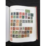 A six volume collection in loose leaf albums of used Commonwealth stamps, reigns represented.