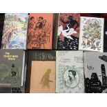 Approx. 30 Folio Society books including art, history, novels, etc, together with nine Barber