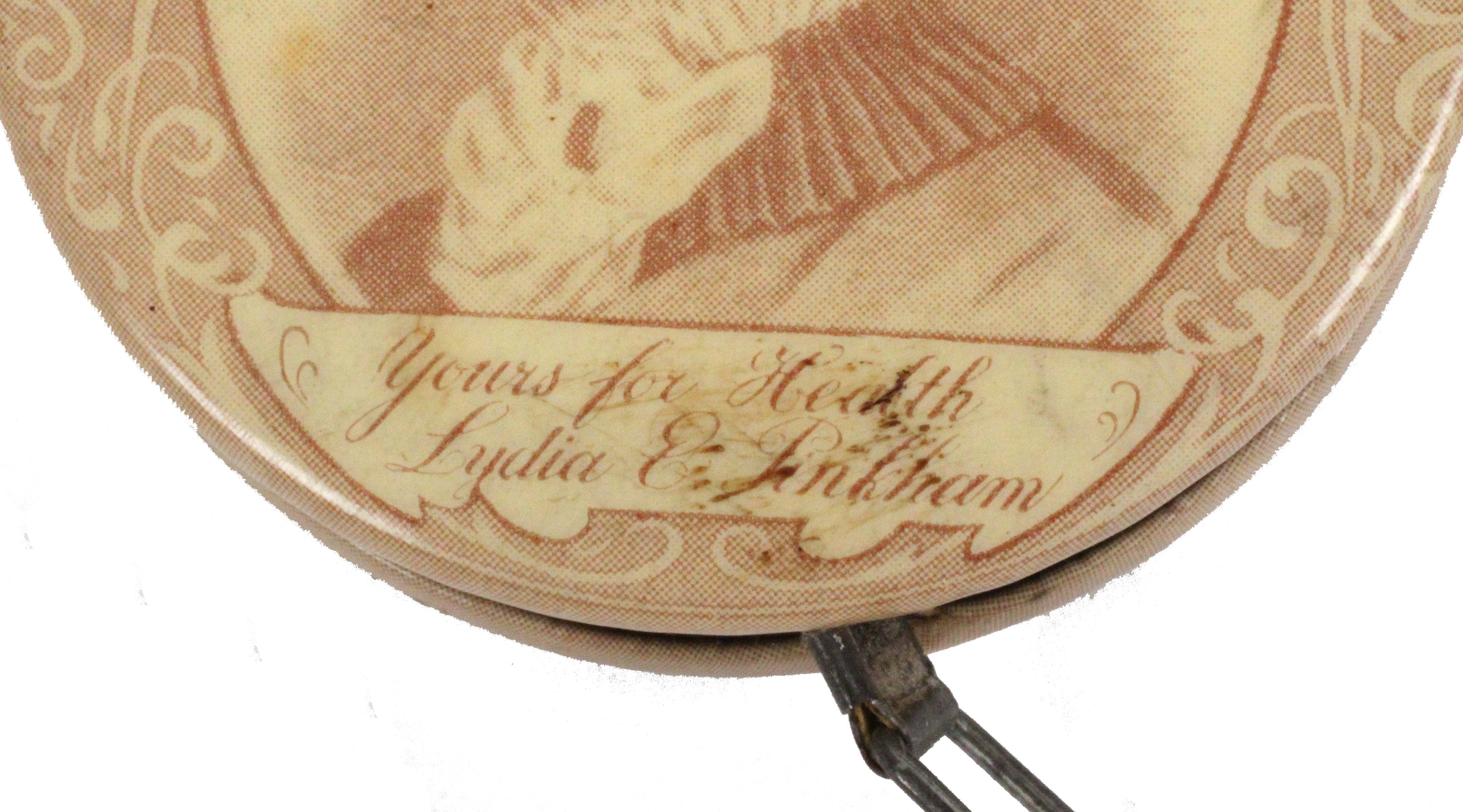 Four tape measures, comprising a circular retractable example advertising Lydia E. Pinkmans - Image 3 of 3