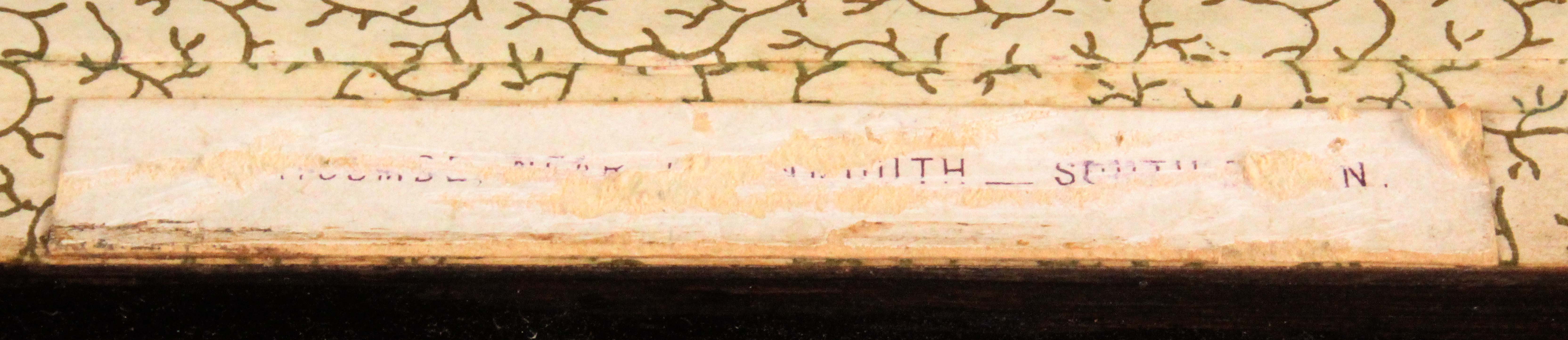 A Tunbridge ware rosewood rectangular box, the lid with a partly coloured photographic view labelled - Image 3 of 3