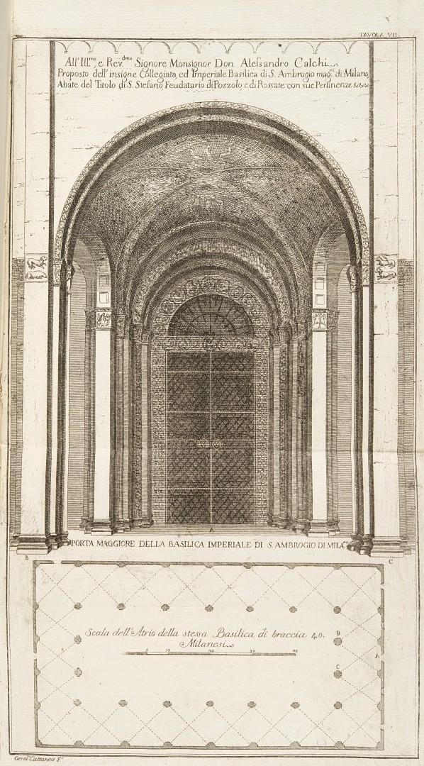 Allegranza, Giuseppe Spiegazione e riflessioni [...] sopra alcuni sacri monumenti. - Image 2 of 2