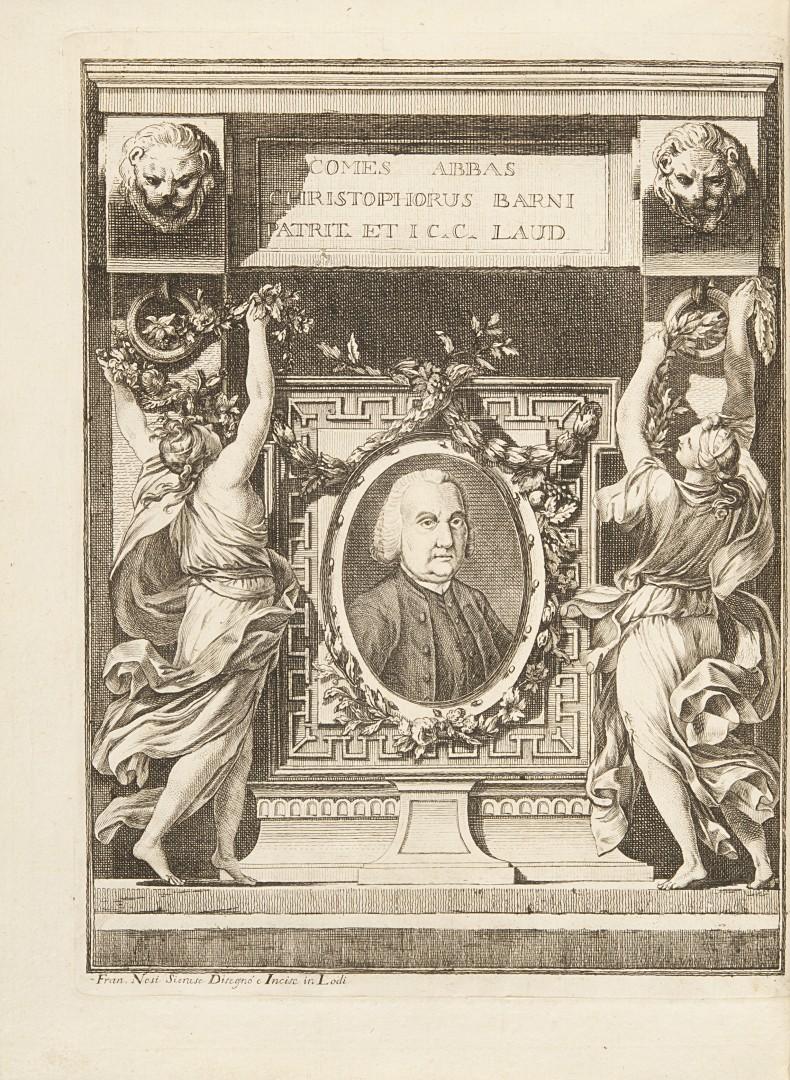 Molossi, Giambattista Memorie d'alcuni uomini illustri della città di Lodi.