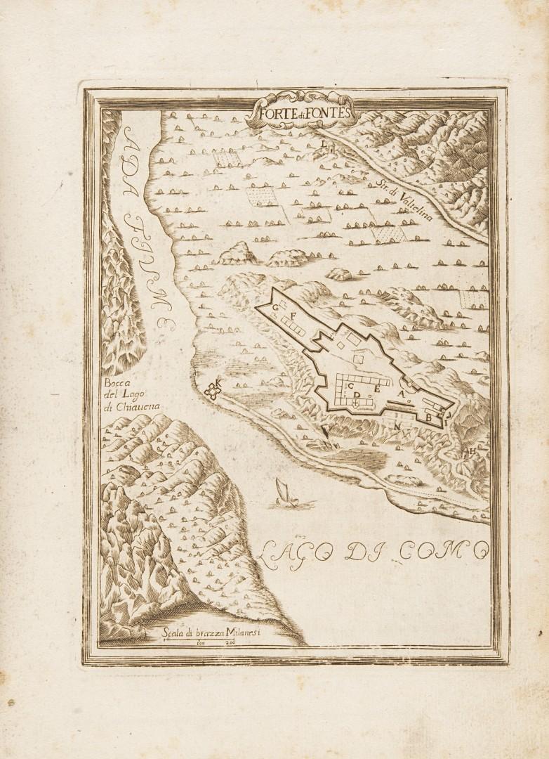 Sesti, Giovanni Battista Piante delle città, piazze, e castelli fortificati in questo stato di Milan