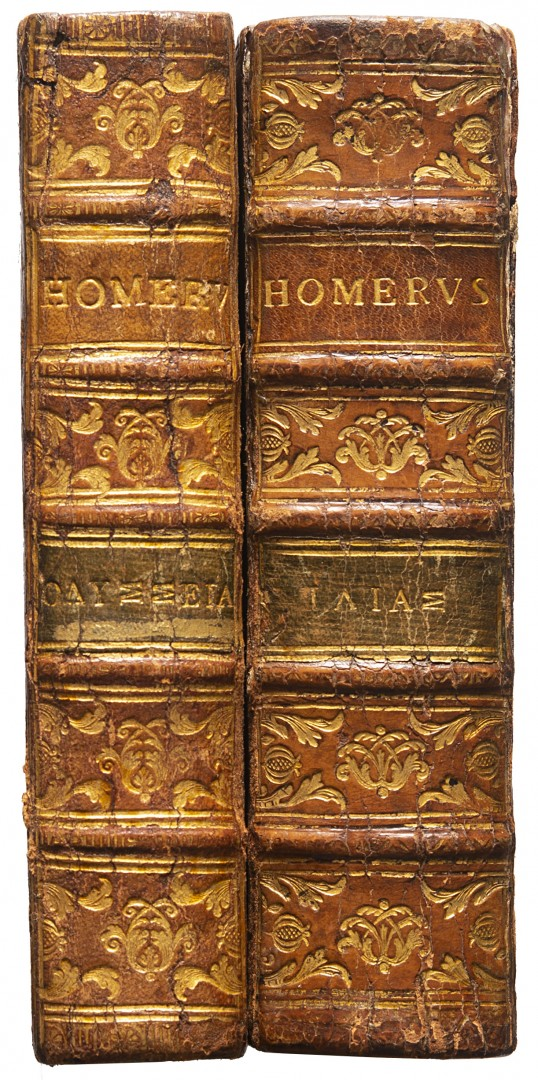 Omero [Homeri Opera omnia].
