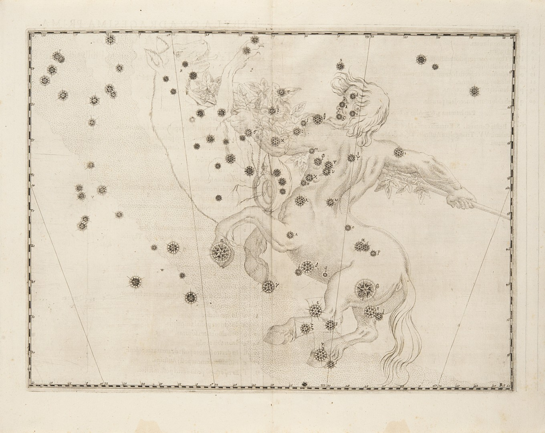 Bayer, Johann Uranometria, omnium asterismorum continens schemata, nova methodo delineata, aereis la - Image 2 of 3