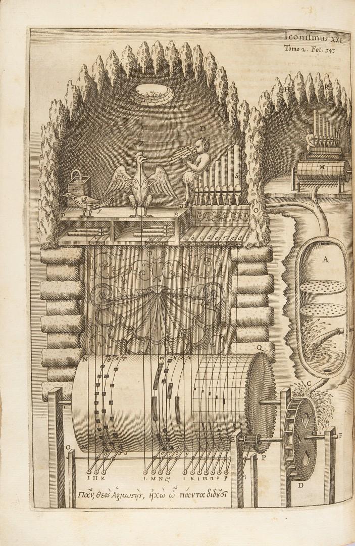 Kircher, Athanasius Musurgia universalis sive ars magna consoni et dissoni in X libros digesta. - Image 4 of 5