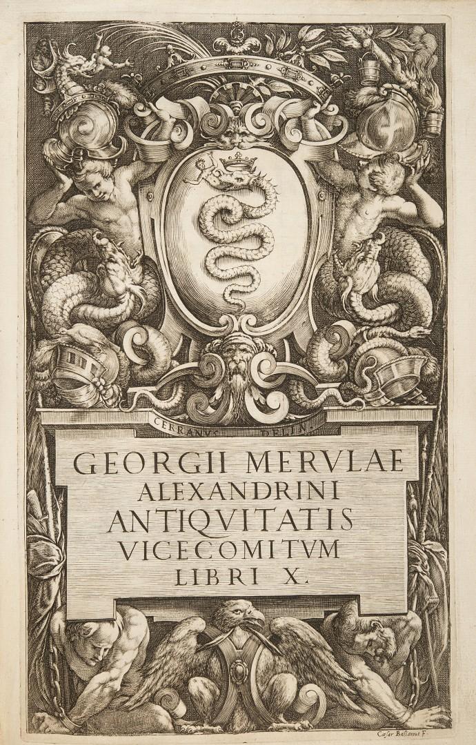 Merula, Giorgio Antiquitatis Vicecomitum libri X.