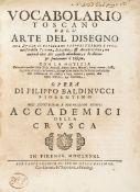 Baldinucci, Filippo Vocabolario toscano dell'arte del disegno.
