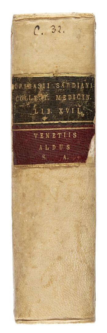 Oribasio Collectorum medicinalium libri XVII.