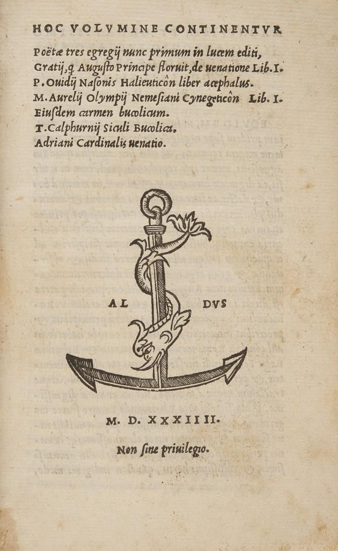 Hoc volumine continentur poetae tres egregij nunc primum in lucem editi.