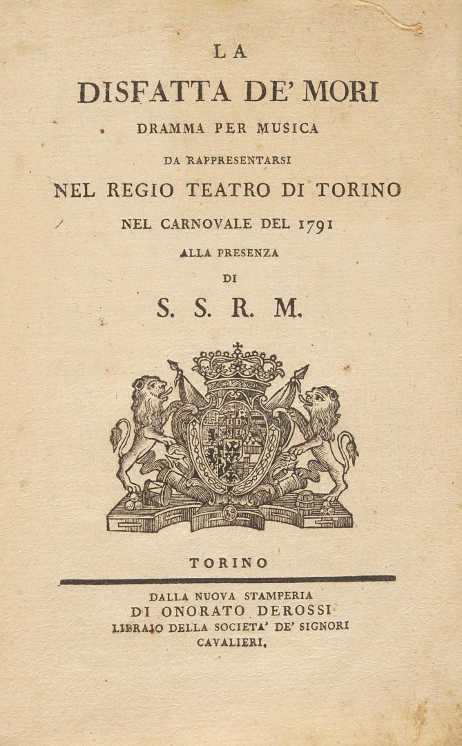Boggio, Giandomenico La disfatta de' Mori.