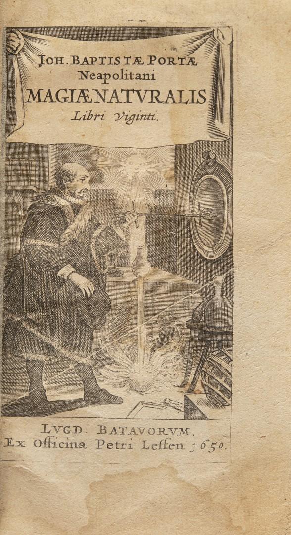 Della Porta, Giovanni Battista Magiae naturalis libri viginti.