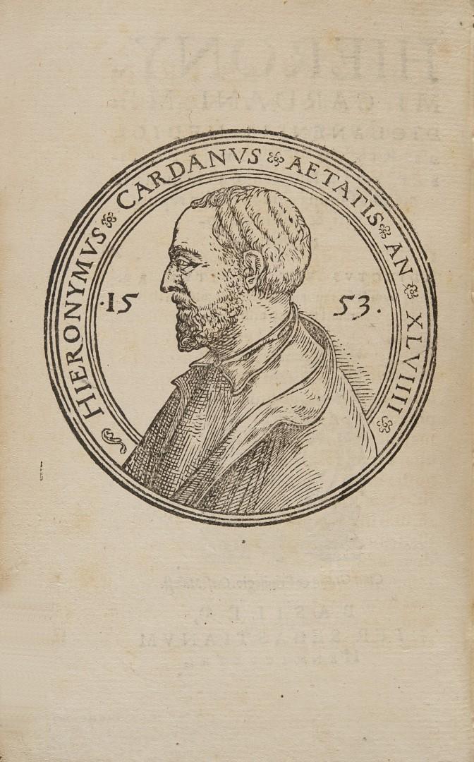 Cardano, Girolamo De rerum varietate, libri XVII.