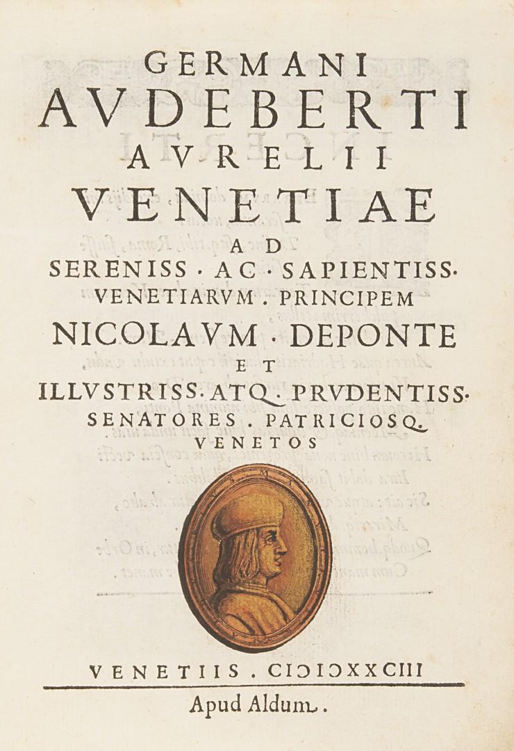 Audebert, Germain Venetiae.