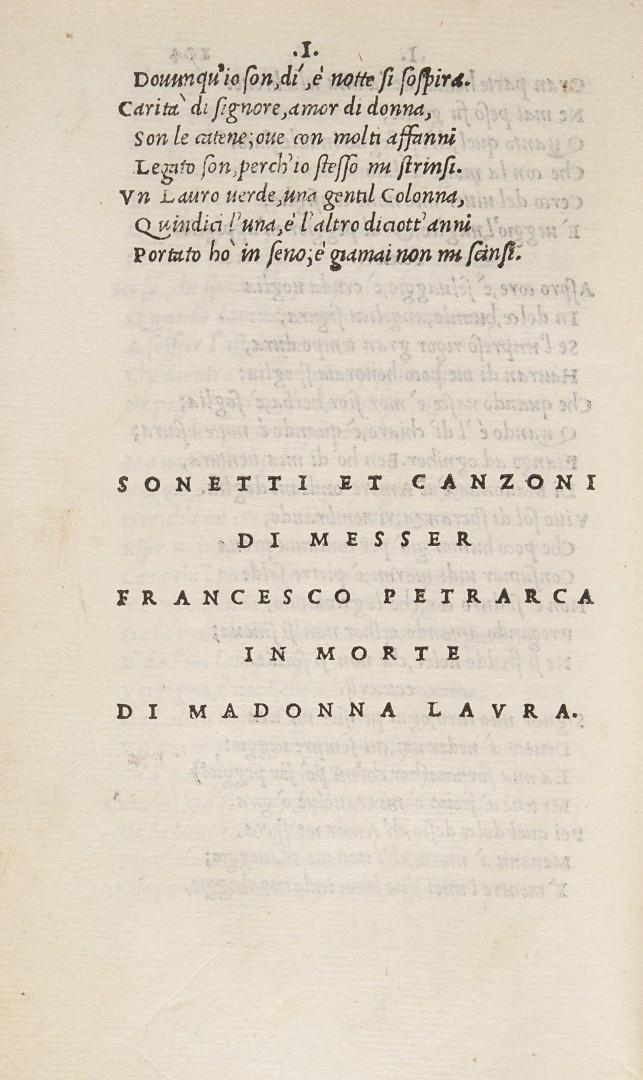 Petrarca, Francesco Il Petrarca.