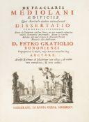 Grazioli, Pietro De praeclaris Mediolani aedificiis.