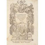Clemente Alessandrino Omnia quae quidem extant Opera.