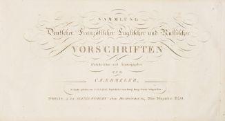Ermeler, C.-E. Sammlung deutscher, französischer, englischer und russischer Vorschriften.