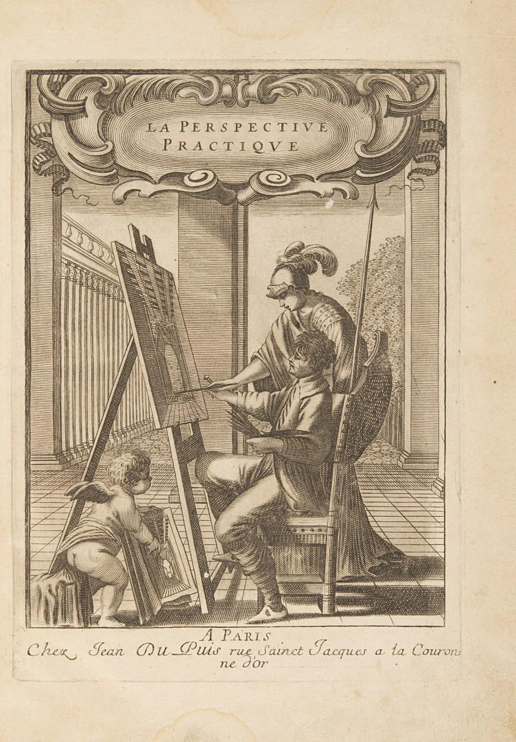 Du Breuil, Jean La perspective pratique. - Image 2 of 2