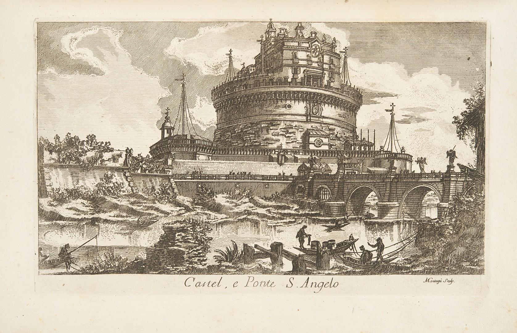Montagu, Domenico Nouveau recueil de vues des plus beaux edifices de Rome moderne et des plus beaux