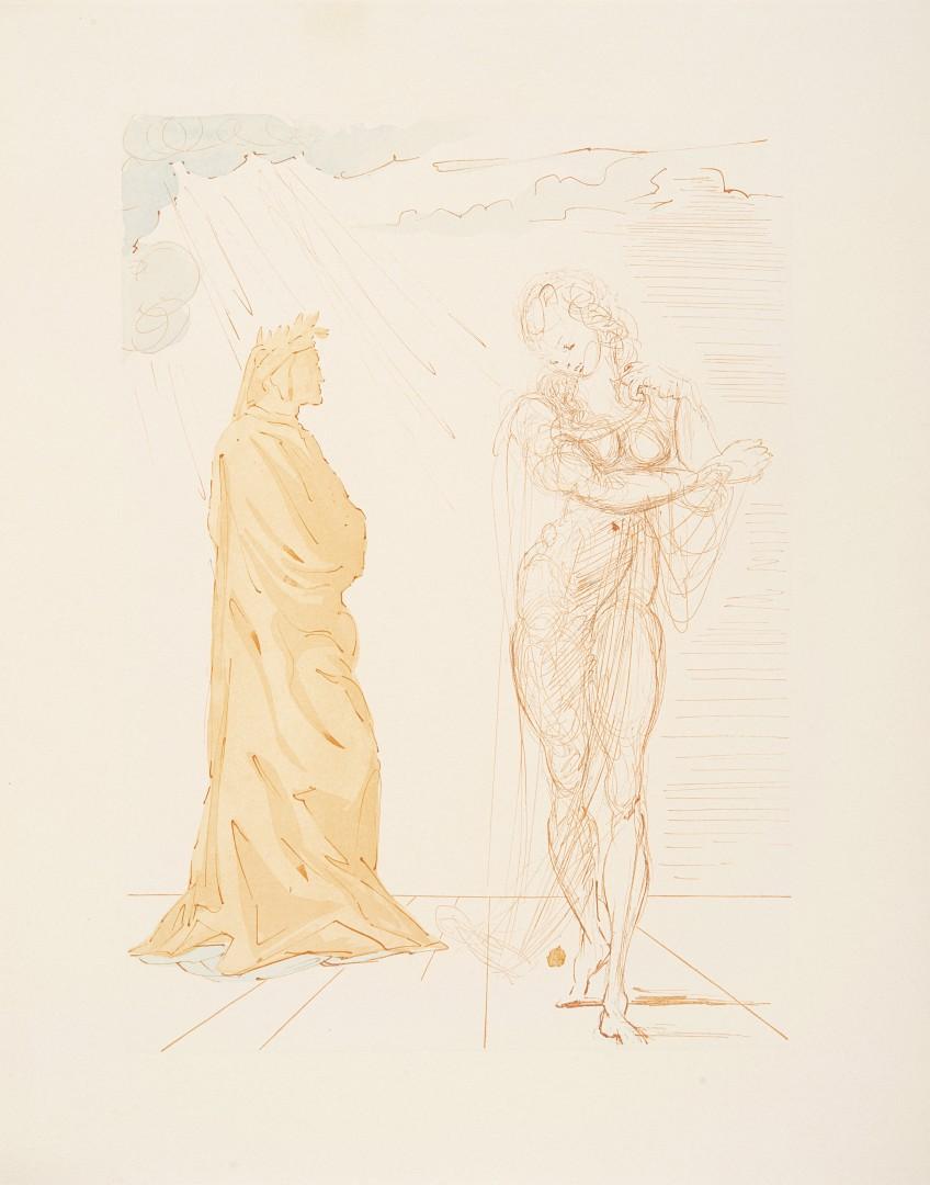 Dante Salvador Dalì - La Divina Commedia - Image 2 of 2