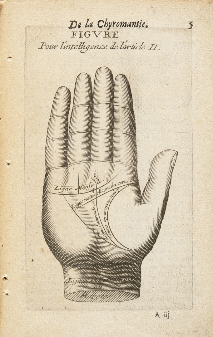 Rampalle, Jean Antoine La chyromantie naturelle de Ronphile.