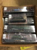 Ten boxed 'Amer Com' model trains
