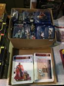 Thirty one Del Prado Medieval Warrior figures, Medieval Warriors magazines and two Del Prado Japan
