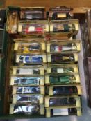 Fifty Models of Yesteryear, Brooklands Bygone Die Cast cars etc.