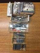 Quantity of Die Cast Triang Minic ships and other makes