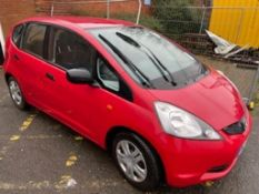 Honda Jazz 1-VTEC S, petrol, 1.2cc, registered 10/09/2009, mileage 32,527