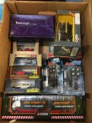 Box of various Die Cast model vehicles (boxed)
