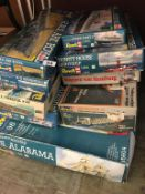 Quantity of Revell model kits
