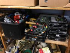 Shelf of assorted