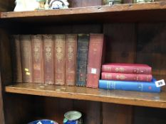 Nine volumes on the letters of Queen Victoria and two others