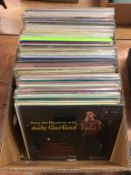 Collection of Judy Garland LPs