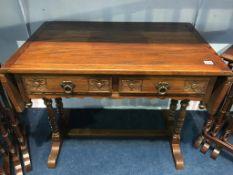 An oak 'Old Charm' sofa table