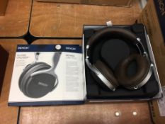 Denon AH-GC20 headphones - Please note that this item has not been tested therefore is sold as
