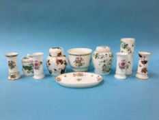 Collection of china including Wedgwood, Minton, Coalport etc.
