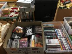 Quantity of CDs and DVDs