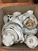 Quantity of Royal Doulton 'Kingswood', dinner china (factory seconds)