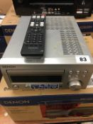 A Denon RCD-M41 DAB - Please note that this item has not been tested therefore is sold as seen (