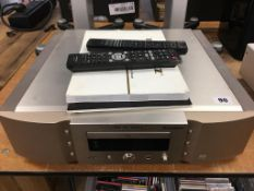 A Marantz SA-1451 CD player - Please note that this item has not been tested therefore is sold as