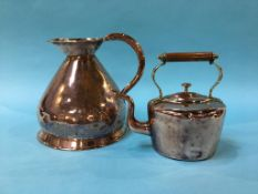 Copper jug and a kettle