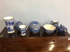 Collection of Ringtons china